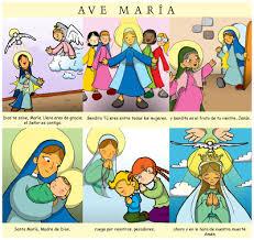 imagenes de virgen maria infantiles colegio juan xxiii discípulas de jesús