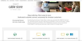 comcast home internet plans amazon begins reselling comcast services on its new site the