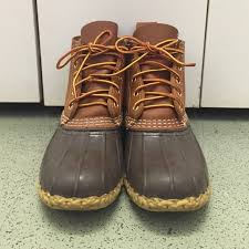 ll bean duck boots womens size 9 l l bean l l bean boots sz 8 6 inch and 8 inch from s