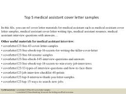 6 example of medical assistant cover letter job resumed medical