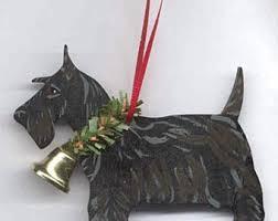 scottie ornament etsy