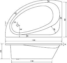 Bathtubs Sizes Standard Corner Bathtub Dimensions Standard Tubethevote