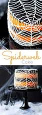 Halloween Decorations For Cakes by This Spiderweb Cake Is Perfect For Halloween A Rich Black Cocoa