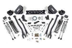 Ram Truck 3500 Air Suspension - 5in 4 link suspension lift kit 14 17 gas ram 2500 w rear air ride