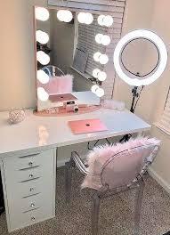 makeup dressing table with mirror vanity desk with mirror dosgildas com