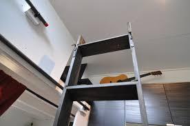 ridiculously easy loft ladder for tiny houses tinyhousebuild com