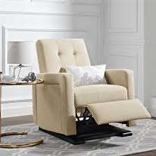 most comfortable recliner dorel living baby knightly fynn gliding recliner beige