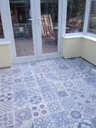 blue floor tiles bathroom c and design ideas