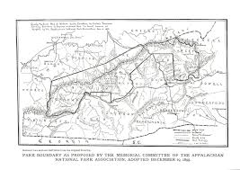 Smoky Mountain National Park Map Nc State Archives Opening Its First Western Branch Carolina