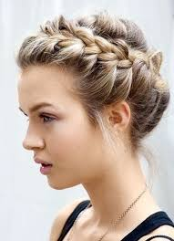updo hairstyles for medium for wedding cute easy curly updo