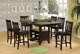 Dining Tables  Bar Kitchen Table Counter Height Dining Table Sets - Dining room table sets counter height