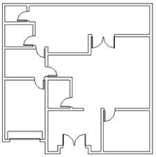 floor plan door placing doors and windows cadnotes