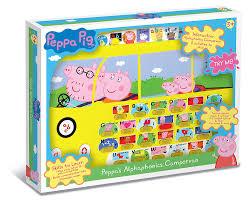 peppa pig pp01 alphaphonics campervan electronic toy amazon uk