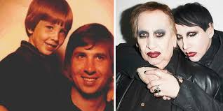 marilyn manson marilyn manson shares a touching personal moment with his dad