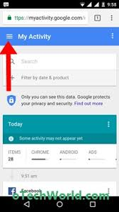how to delete search history on android how to clear search bar history in android otechworld