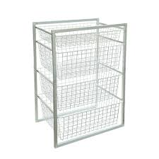 High Line Kitchen Pull Out Wire Basket Drawer Wire Shelving Amazing Wire Basket Shelves Wire Mesh Storage Home
