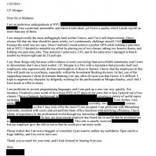 stunning design jp morgan cover letter 12 how not to write a when