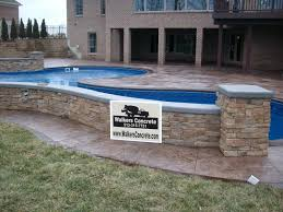 Textured Concrete Patio by Walkers Concrete Llc Stamped Concrete Patternsstamped