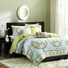 Paisley Comforter Sets Full Blue And Green Comforter Set U2013 Rentacarin Us
