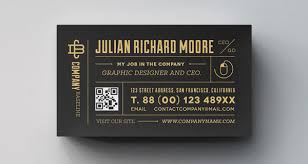 free corporate u0026 agency businesscard template with qr code