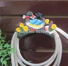 wrought iron new garden hose rack holder scrowl outdoor decorative