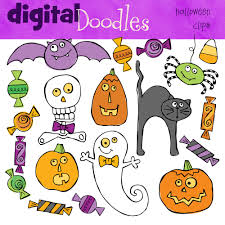 halloween digital clip art