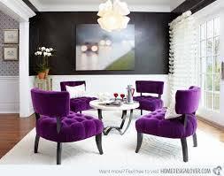 Fascinating Purple Living Room Set Design  Purple Furniture - White living room sets