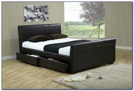 king size bed frame with storage uk home design ideas