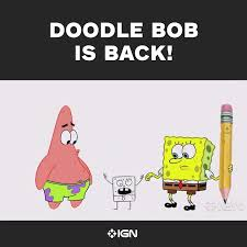 Doodle Bob Meme - doodlebob hashtag on twitter