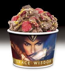 Cold Stone Creamery Winter Garden Fl - cold stone creamery features specially made wonder woman movie