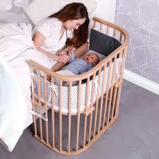 Bed Side Cribs by Babybay Bedside Sleeper Is A Bedside Co Sleeper Bassinet That