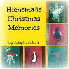 homemade christmas memories the adaptive mom