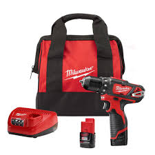milwaukee m12 12 volt lithium ion 3 8 in cordless drill driver