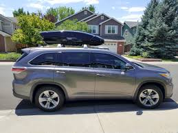 2009 Toyota Corolla Roof Rack by Pics Of Installed Silver Roof Rails With Thule Box Toyota Nation