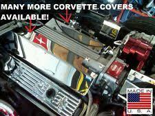 corvette stainless creations lt1 engine cover ebay