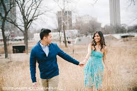 Photographer Chicago Chicago Engagement Pictures With Pinky U0026 Donny Vietnamese Indian