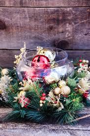 Easy Christmas Centerpiece - easy christmas table decorations uk best christmas tables ideas