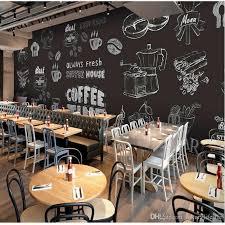 3d stereo custom bar cafe wallpaper ktv restaurant sofa tv