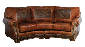 Small Brown Leather Corner Sofa Leather Sofa Monroe Square Corner Leather Sectional Custom