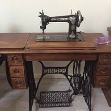 Antique Singer Sewing Machine Table Old Singer Sewing Machine Collectors Weekly