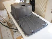 d馗oupe plan de travail cuisine pose standard d un évier 1 bac égouttoir grande cuve sur plan de
