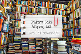 children u0027s books shopping list with free download conservative
