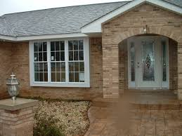 exterior design exciting beige wood siding with brick wall and