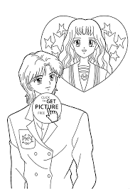 manga marmalade boy coloring pages for kids printable free
