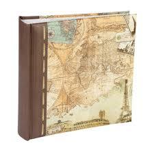 Self Adhesive Photo Albums Old World Map Series Kenro Ltd Traditional U0026 Digital