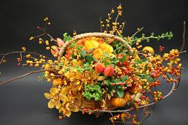 thanksgiving harvest basket in pasadena ca jacob maarse florists