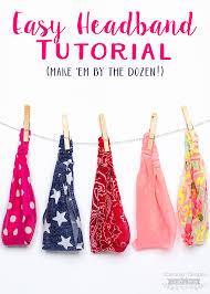 headband elastic easy elastic headband tutorial scattered thoughts of a crafty