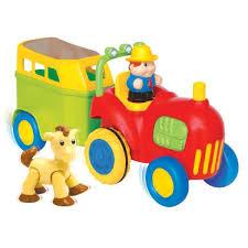 tracteur en bois petit tracteur enfant achat vente jeux et jouets pas chers