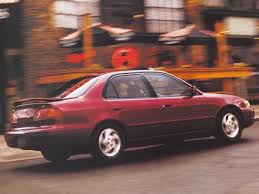 1998 toyota corolla tire size 1998 toyota corolla overview cars com