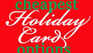 how to find the best deals on holiday cards eat drink and save